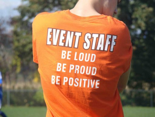 Order your custom event or group tee shirt