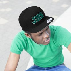 Jackson High School Flat Bill Hat