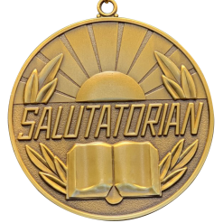 Salutatorian Medallion w/ Neck Ribbon