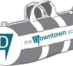 Team Canvas Duffel Bag – The Downtown School