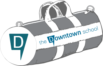 The downtown School Duffel bag
