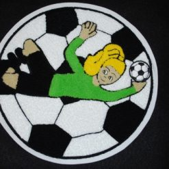 Soccer Goalie 2 Back Patches