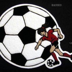 Soccer Ball 6 Back Patch