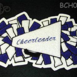 Cheerleader 12 Back Patch