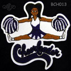 Cheerleader 15 Back Patch
