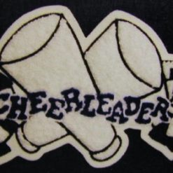 Cheerleader 22 Back Patch