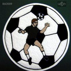 Soccer Ball 8 Back Patch