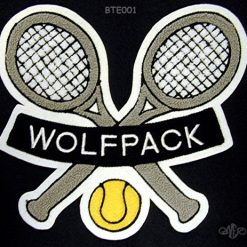 Tennis 4 Back Patch