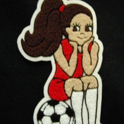 Soccer 8 Back Patch