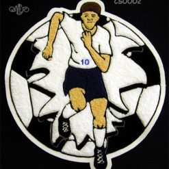 Soccer Ball 10 Back Patch