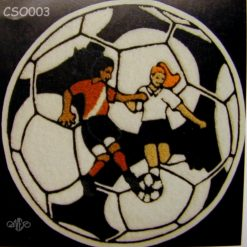 Soccer Ball 11 Back Patch