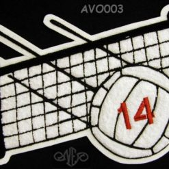 Volleyball 2 Back Patch