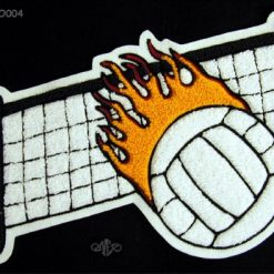 Volleyball 4 Back Patch