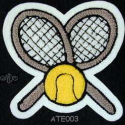Tennis 3 Back Patch