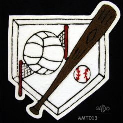 Multi Sport Softball and Volleyball #2 Back Patch