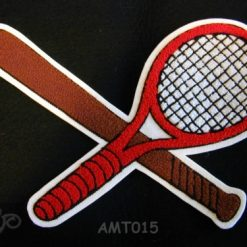 Multi Sport Baseball and Tennis Back Patch