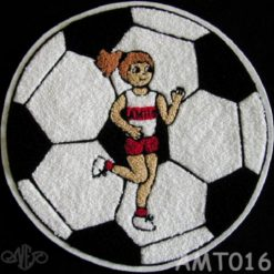 Multi Sport Soccer and Track #2 Back Patch