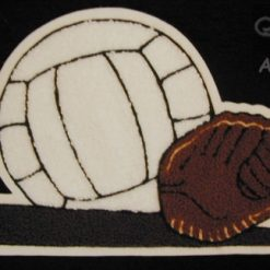 Multi Sport Softball and Volleyball #3 Back Patch