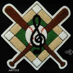 Multi Sport Music, Baseball Back Patch