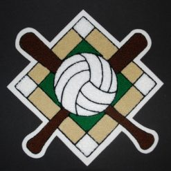 Multi Sport Softball and Volleyball #4 Back Patch
