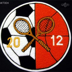 Multi Sport soccer, tennis, and basketball Back Patch