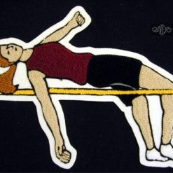 Track & Field (High Jump) Back Patch