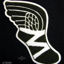 Track & Field (Track foot) Back Patch