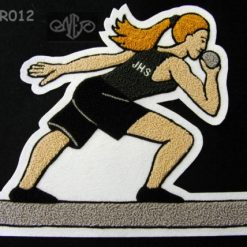 Track & Field (discus 5) Back Patch