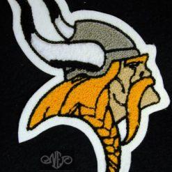Mascot Viking Back Patch
