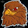 Mascot Eagle Back Patch