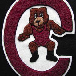Mascot Bear Back Patch