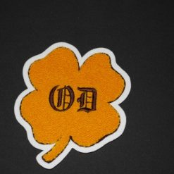 Mascot Shamrock Back Patch