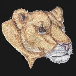 Mascot Lion Female Back Patch