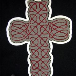 Cross A Large Back Patch