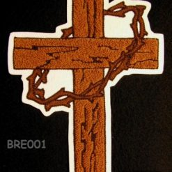 Cross B Large Back Patch