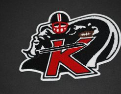 Mascot Kings Football Back Patch