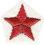 Star Red Inlay