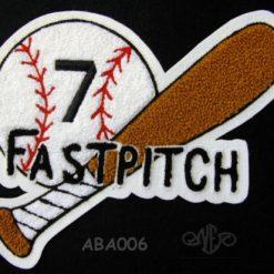 Softball Fastpitch Patch