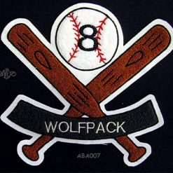 Baseball Banner Patch