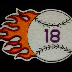 Softball Flaming Ball