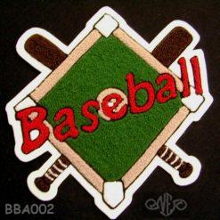Baseball Crossed Bats 3