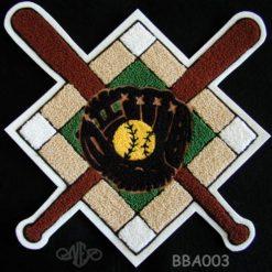 Softball Crossed Bats 4