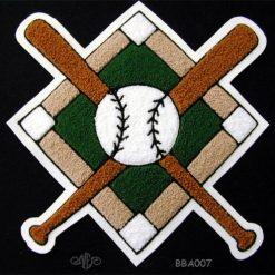 Baseball Crossed Bats 5
