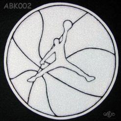 Basketball Jumpman on Ball