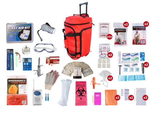 2 Person Elite Survival Kit 72hrs
