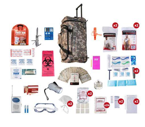 2 person elite Survival kit 72 hrs