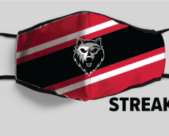 Custom Face Mask – Streak Design