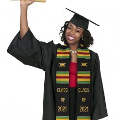 Kente Cloth Graduation Stole 2021