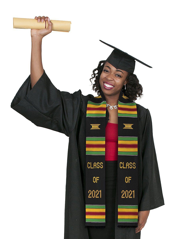 Kente Cloth Graduation Stole 2021