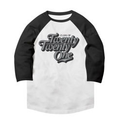 Raglan Class of 2021 Baseball T-Shirt